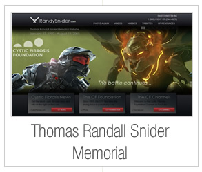 Thomas Randall Snider Memorial Website
